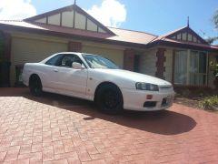 My White R34