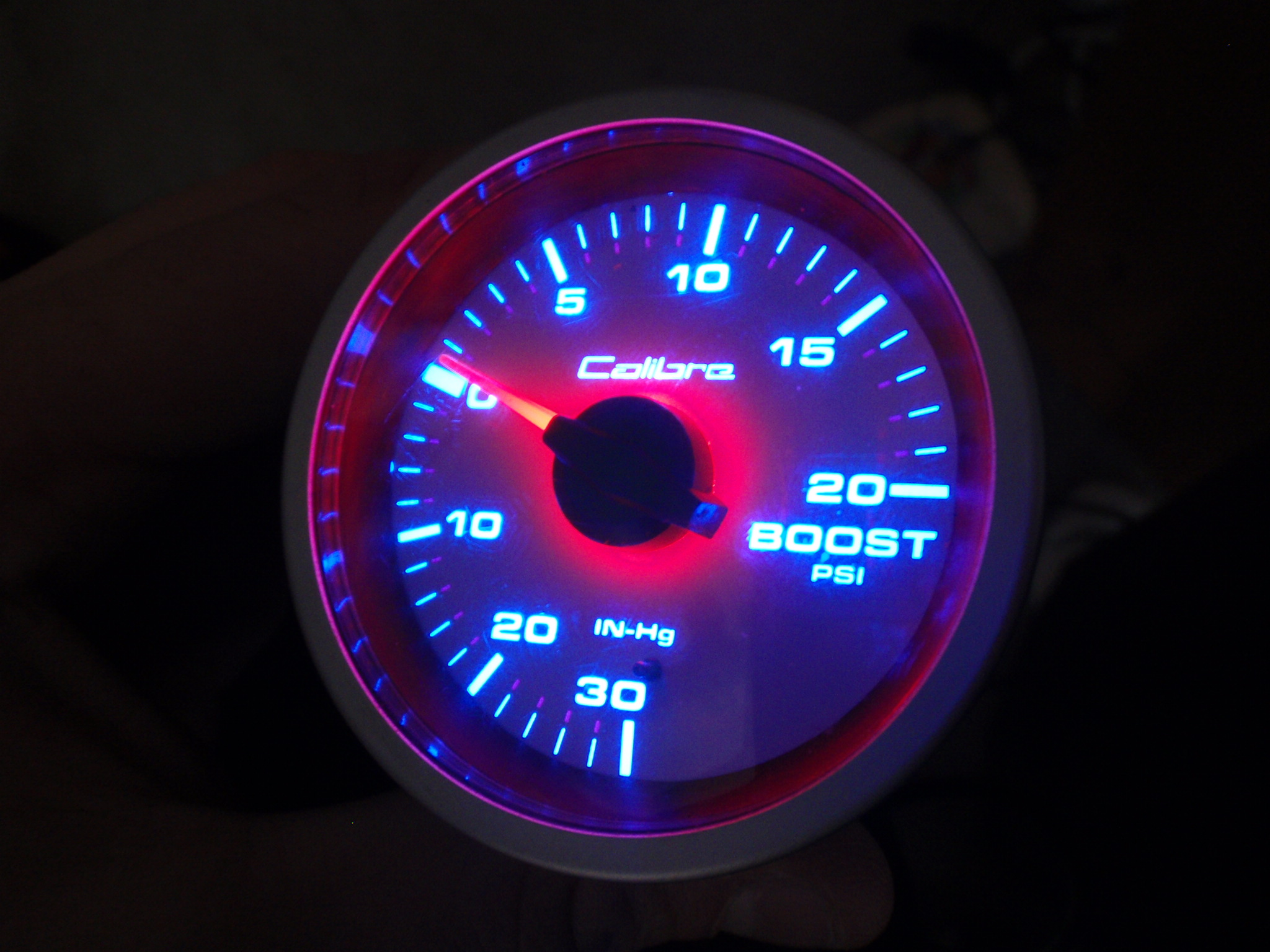 [CSDW_4250]   Calibre Boost Gauge - Mechanical, 52Mm, White Face, Blue Illumination - For  Sale (Private Car Parts and Accessories) - SAU Community | Caliber Boost Gauge |  | SAU Community