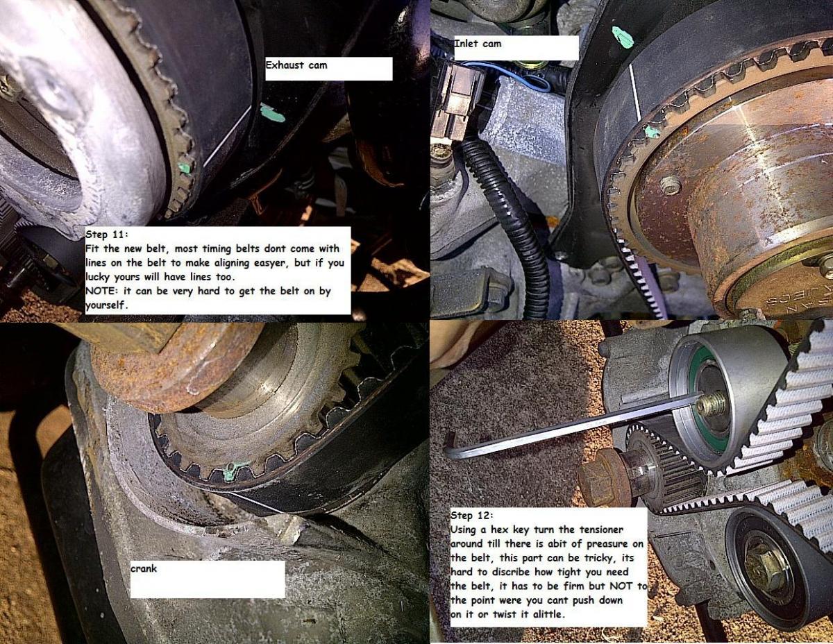 Cam Belt Timing Belt Tensioner /& Idler R33 Skyline GTST RB25DET