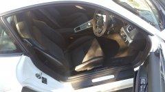 Porsche GT4 interior