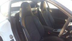 Porsche GT4 seats