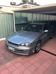 Completely stock 2001 sires 2 R34 25GT-t Automatic