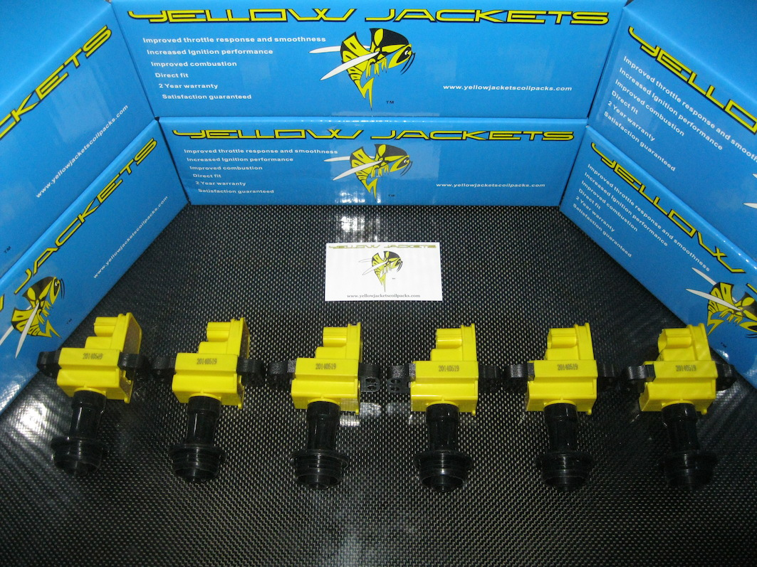 S15 SILVIA 200SX SR20DET X-TRAIL GT BRAND NEW YELLOW JACKETS COIL PACKS