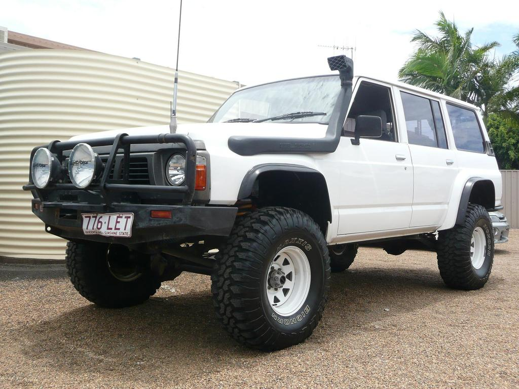 gq nissan patrol 4 2 intercooled turbo diesel