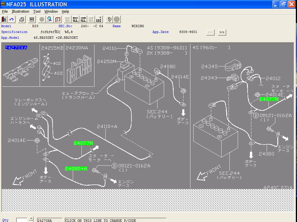 R33 Chassis Wiring Diagram General Maintenance SAU