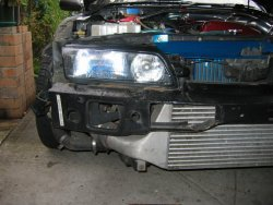 Fitting N1 Vents Into R32 Gtr Front Bar - Cosmetic, Styling