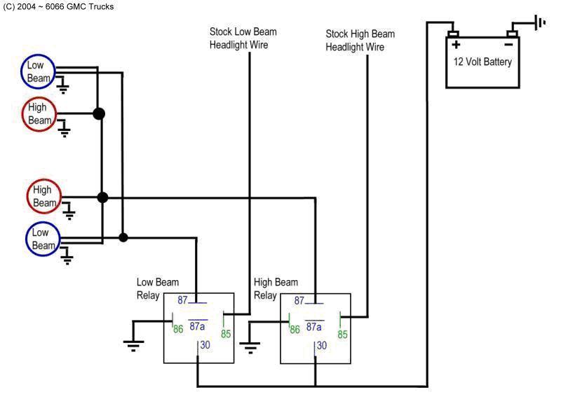 2005 honda cr v headlight wiring diagram the low down on low beam headlights - western australia ...