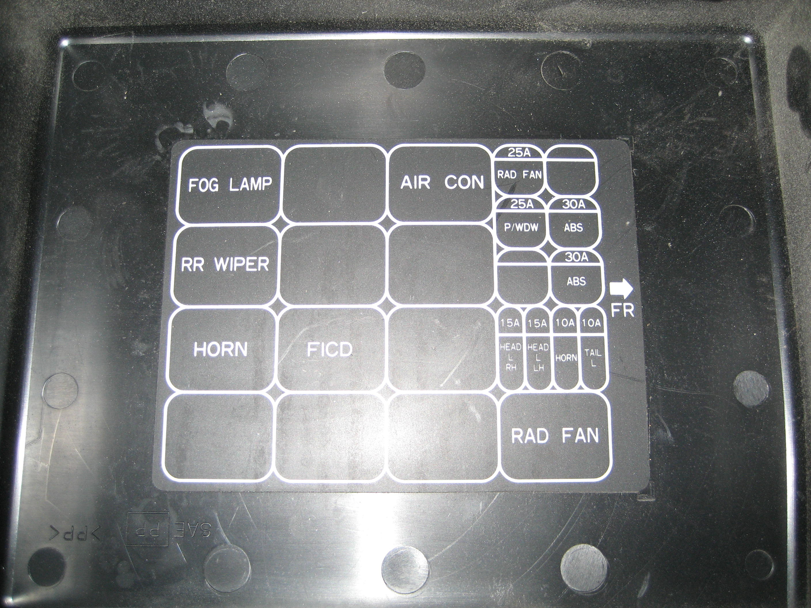 r33 series 1 fuse box layout  rb25det