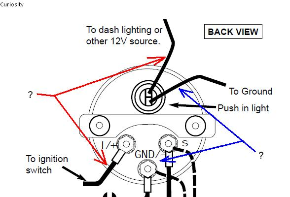 Autometer Oil Pressure Gauge Wiring Shortcut