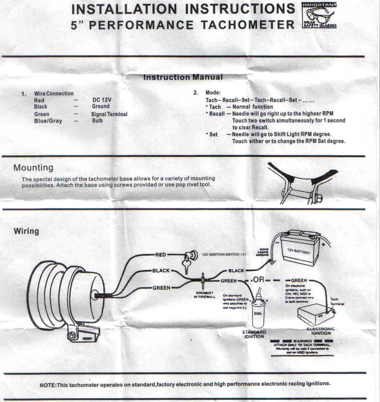 post 39133 1196591761 help wiring a monster tacho cosmetic, styling & respray sau 5 tachometer wiring diagram at panicattacktreatment.co