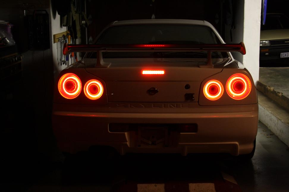 Nissan Gtr R34 Tail Lights ✓ Nissan Recomended Car